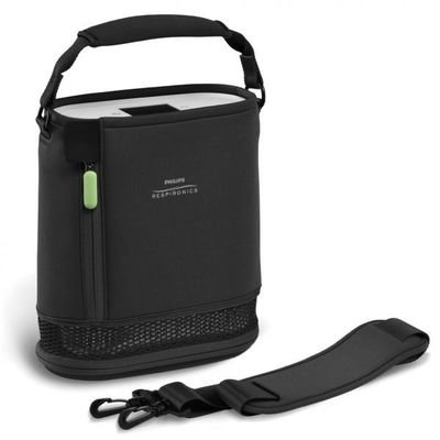 SimplyGo Mini carry bag and strap - black