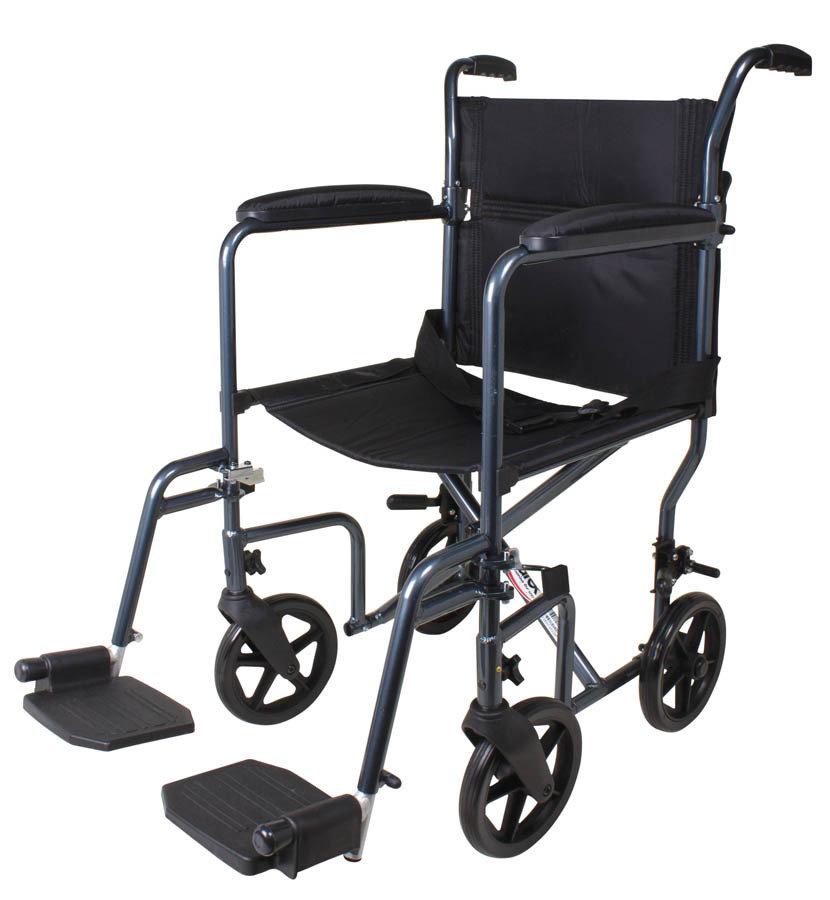 "Transport Chair 19"""