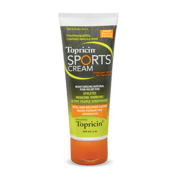 Topricin Sports Cream 3oz Tube