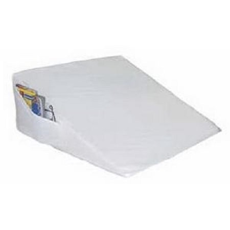 White Bed wedge with Pocket