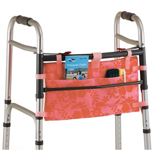 mobility saddle bag-aloha pink