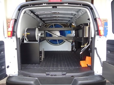 Hydramaster CDS 4.8 - Pro Shelving Kit - Fits Extended Chevy Vans Only