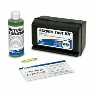 Acrylic Test Kit by Basic Coatings