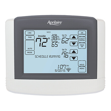 Aprilaire Wifi Thermostat with IAQ Control - Model 8620W