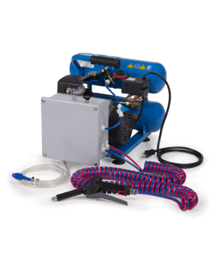 Portable Compressor Foam & Fog Unit w/ Kalrez seals and 100' twin line by Foam-it