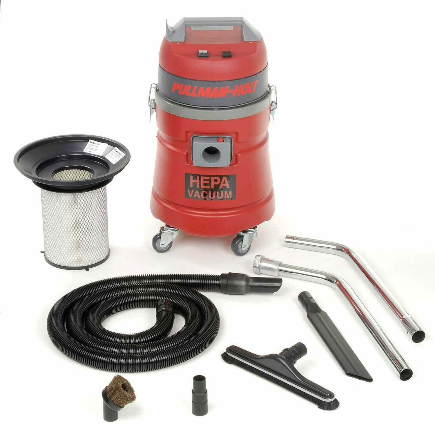 Pullman-Holt HEPA Dry Vacuum, 45DRY, w/Tool Kit (Special Order)