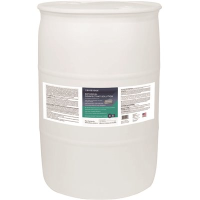 Botanical Disinfectant Solution (55 gal. drum) Antimicrobial by Bioesque