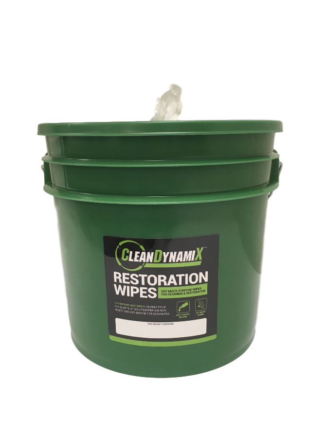 CleanDynamix Restoration Dry Wipe Kit
