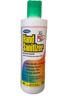Hand Sanitizer (8 ounce) by COM STAR