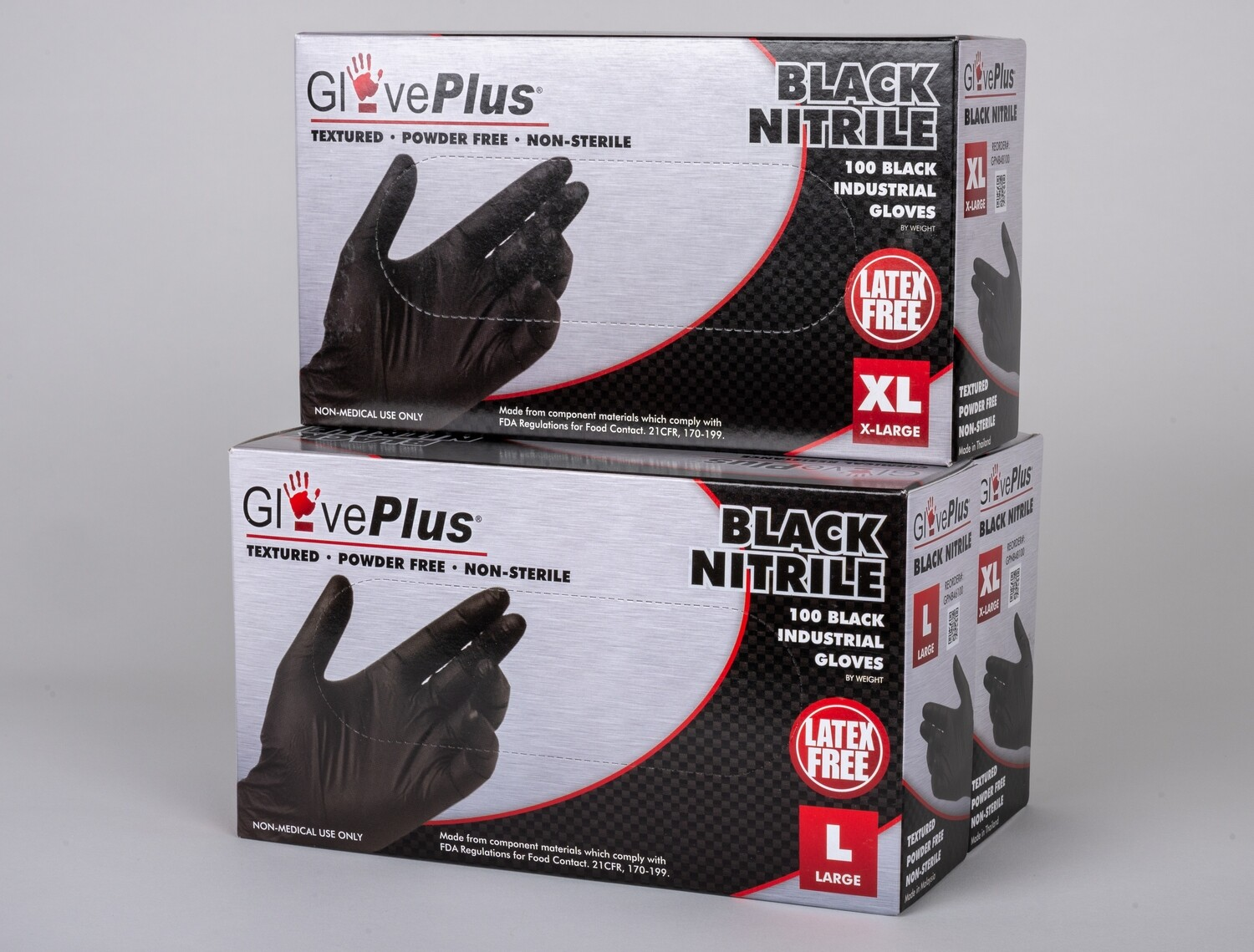 Black Nitrile Gloves, Box of 50 Pair