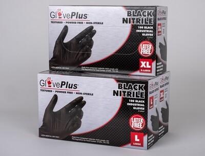 Black Nitrile Gloves, Box of 50 Pair