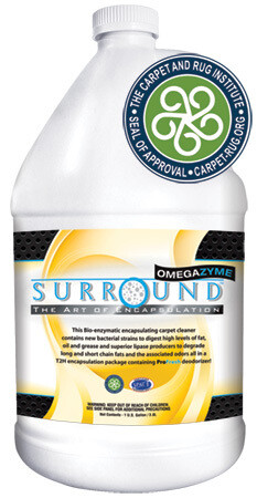 Surround OmegaZyme Enzymatic Encapsulant Detergent (1 Gallon) by Bonnet Pro