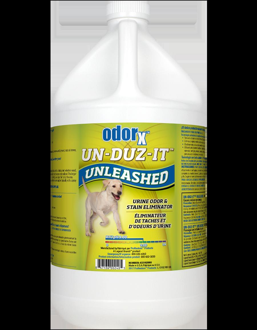 Un-Duz-It Unleashed Urine Odor & Stain Remover (1 gallon) by Legend Brands Unsmoke Systems Odorx