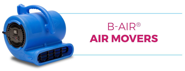 B-Air Vent VPX34 Air Mover, Snail, Blue