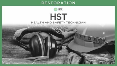 Online Health and Safety Technician (HST) Course - IICRC
