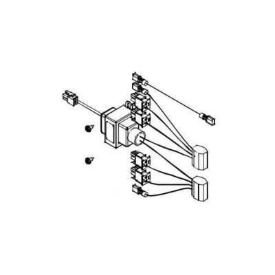 Aprilaire Crawlspace Dehumidifier Transformer Wire Harness, 5454