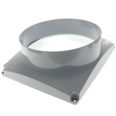 Aprilaire Crawlspace Dehumidifier Inlet Duct Collar, 5699, Fits E070