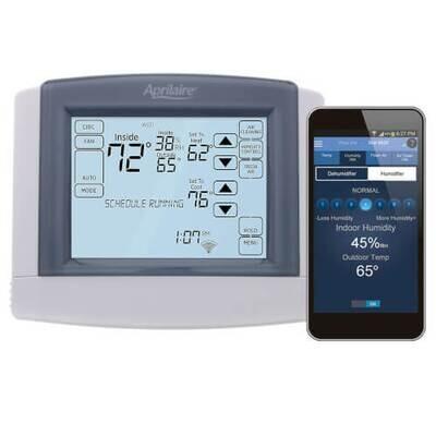Aprilaire WiFi Dehumidifier Control, Model 8620W