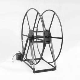 250' Vacuum Hose Reel by Rokan  |  Electric