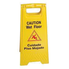 Folding Caution Sign - Standard Version