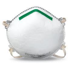 N95 Disposable Respirator Mask, 20pk