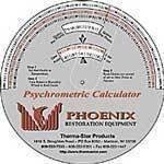 Phoenix Therma-Stor Psychrometric Calculator, Cardboard
