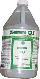Serum CU (Gallon, Call for Shipping Cost) by Serum Systems - Organic Odor/Stain Remover for Carpet/Upholstery