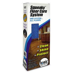 Squeaky Floor Care Kit by Basic Coatings