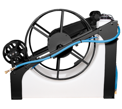 Water Pond with Electric Hose Reel by Sapphire Scientific