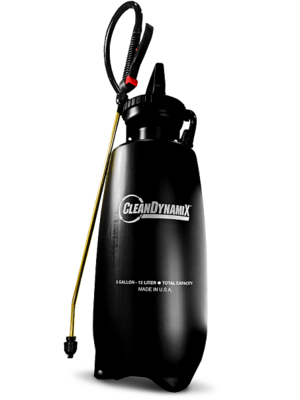3gl Premium Pump Sprayer w/ Relief Valve by Clean DynamiX