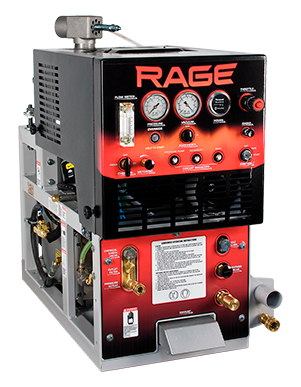Rage Truckmount with 90gl Waste Tank