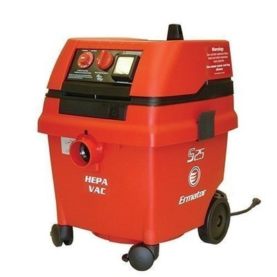 Pullman-Holt S25 Wet/Dry HEPA Vacuum by Ermator   On-Board Tool Outlet