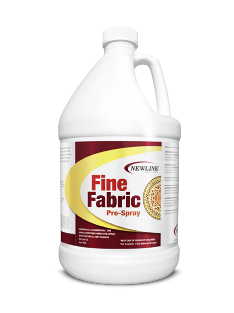Fine Fabric Pre-Spray (Gallon) by Newline | Fine Fabric Upholstery Pre-Spray