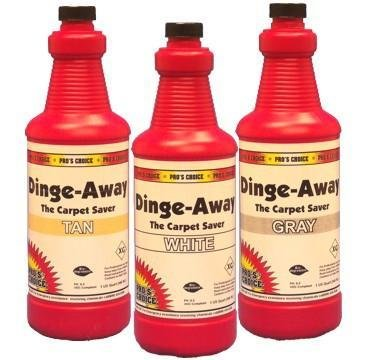Dinge Away (Quart) by CTI Pro's Choice | Carpet Fiber Restorer