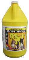 OS-1 (Gallon) by CTI Pro's Choice | Odor, Stain and Soil Remover