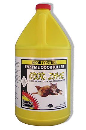 Odor Zyme (Gallon) by CTI Pro's Choice | Enzyme Odor Killer
