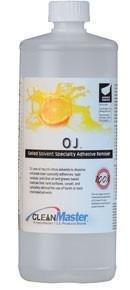 OJ Orange Gel (Quart) by HydraMaster | Natural Citrus Solvent Gel