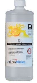 OJ Orange Gel (Quart) by HydraMaster | Natural Citrus Solvent Gel