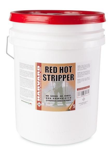 Red Hot Stripper (5gal Pail) by Harvard | No Scrub Stripper