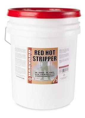 Red Hot Stripper (5gal Pail) by Harvard | No Scrub Stripper