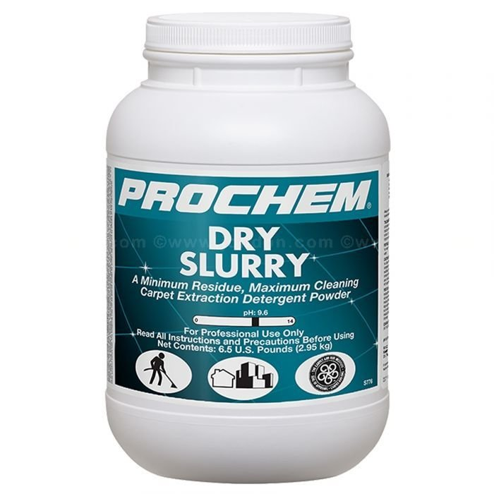 Dry Slurry (6.5 lb. Jar) by ProChem | Carpet Extraction Detergent Powder