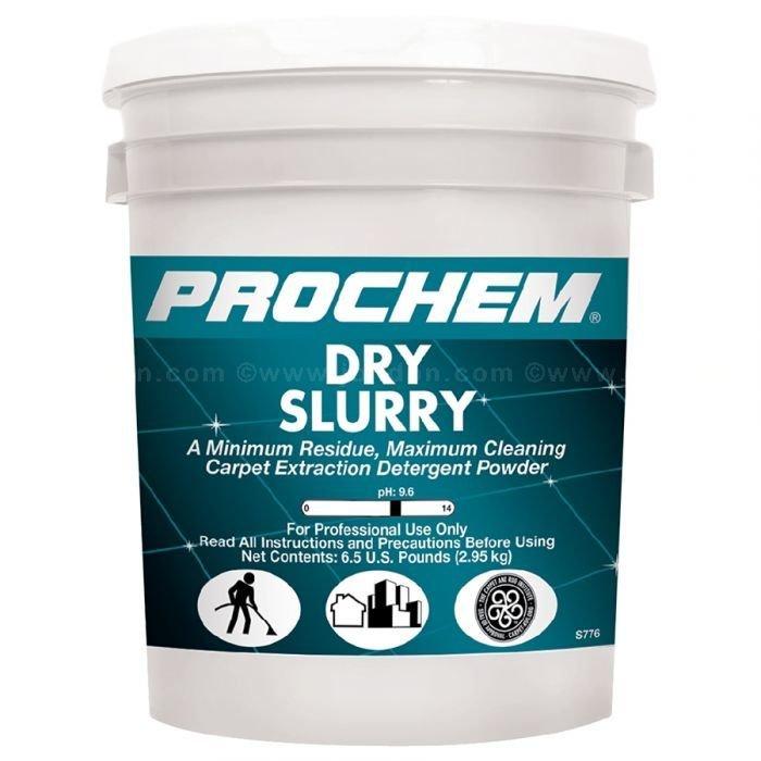 Dry Slurry (48 lb. Pail) by ProChem | Carpet Extraction Detergent Powder