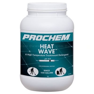 Heat Wave (6.5 lb. Jar) by ProChem | High Temp. Truck Mount Detergent