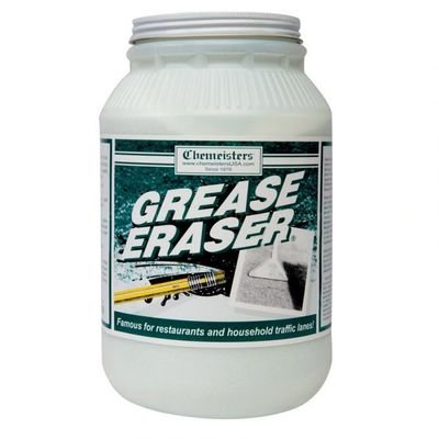 Grease Eraser (6.5 lb. Jar) by Chemeisters | Phosphorous Based Degreaser