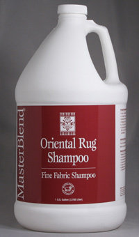 Oriental Rug Shampoo (Gallon) by MasterBlend | Wool Safe Carpet Shampoo