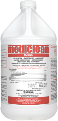MediClean X-590 Institutional Spray, Gl