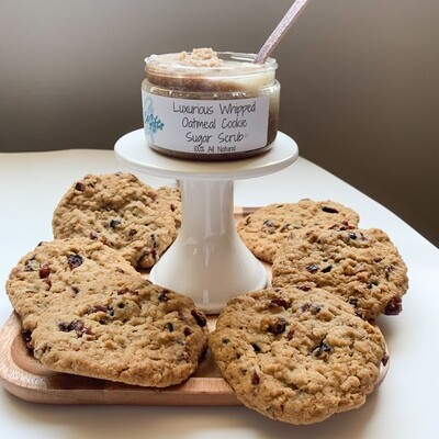 Oatmeal Cookie Scrub