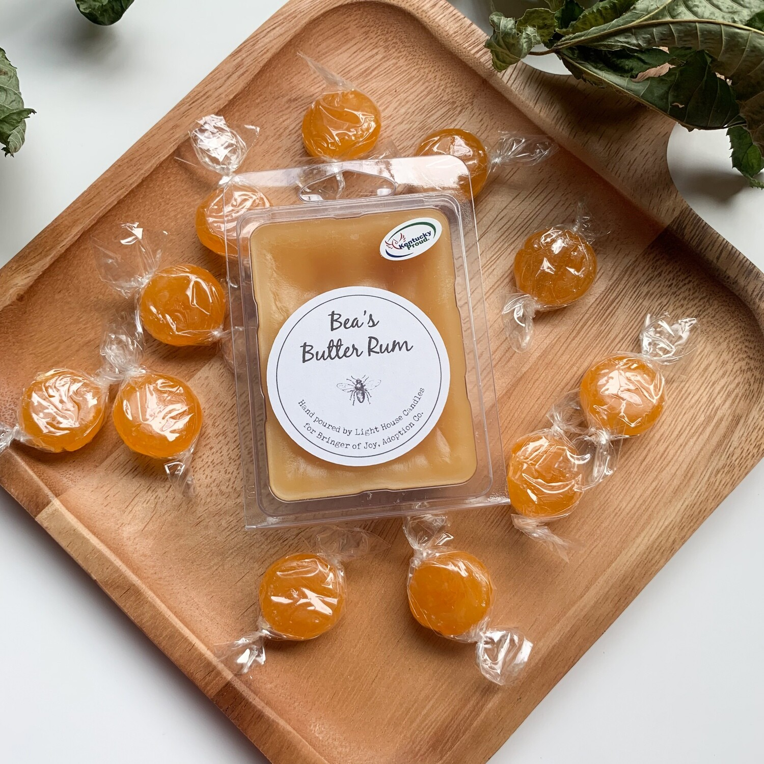 Bea's Butter Rum Wax Melts