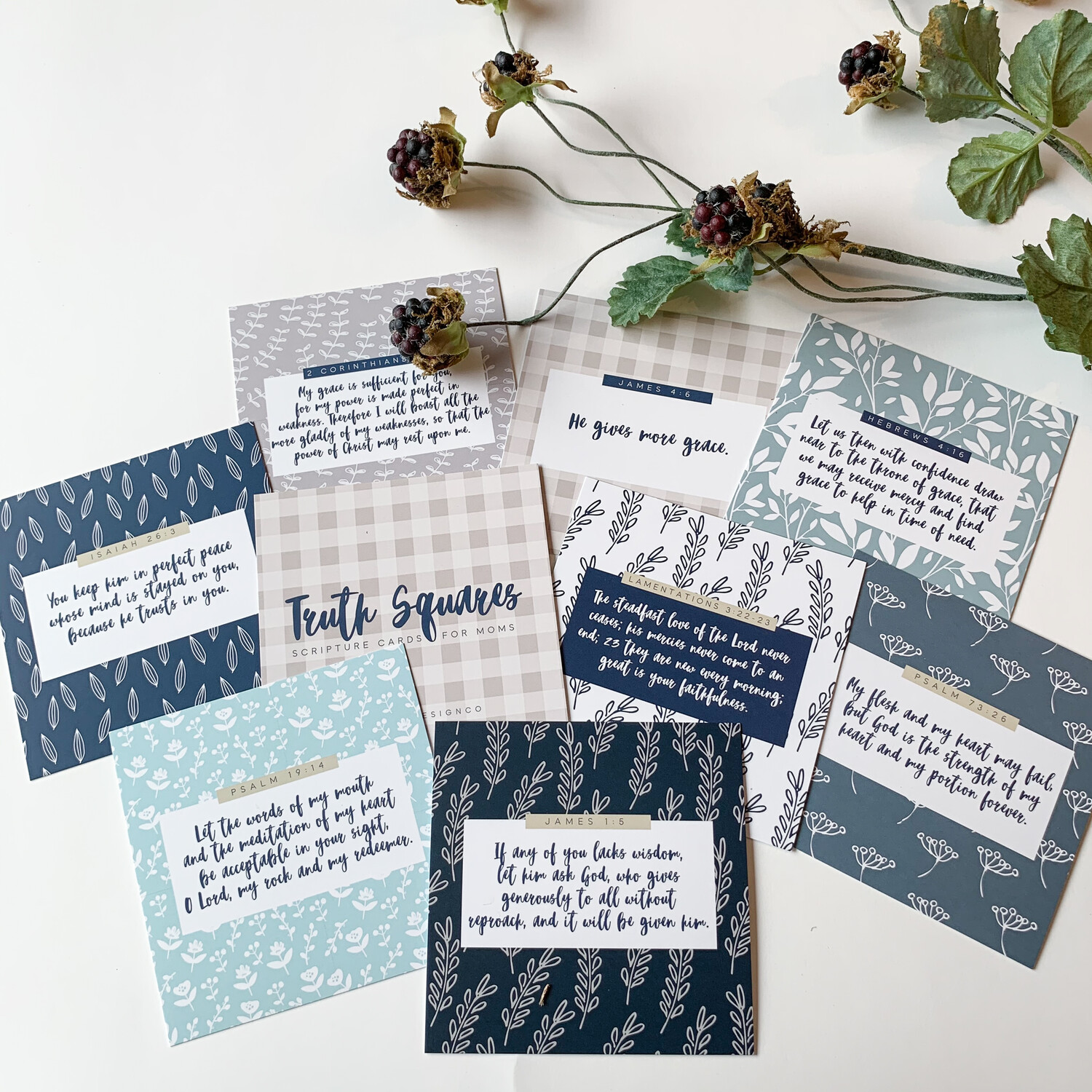 Scripture Cards for Moms
