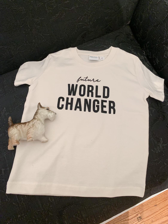Future World Changer Shirt  - Kids (4t)